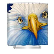 Clarity Shower Curtain by Brian  Commerford
