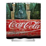 Classic Coke Shower Curtain by David Lee Thompson