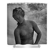 Classic Woman Statue Shower Curtain by Setsiri Silapasuwanchai