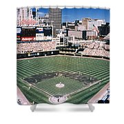 CLEVELAND: JACOBS FIELD Shower Curtain by Granger