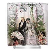 CLEVELANDS WEDDING, 1886 Shower Curtain by Granger