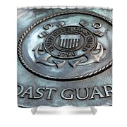 Coast Guard Shower Curtain by LeeAnn McLaneGoetz McLaneGoetzStudioLLCcom