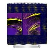 Cobra Shower Curtain by Steve Karol