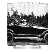Coeur Dalene, C1916 Shower Curtain by Granger