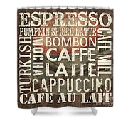 Coffee Of The Day 2 Shower Curtain by Debbie DeWitt