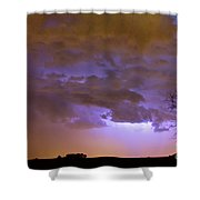 Colorful Colorado Cloud To Cloud Lightning Thunderstorm 27 Shower Curtain by James BO  Insogna