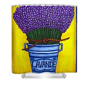 Colours Of Provence Shower Curtain by Lisa  Lorenz