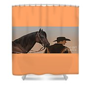 Companions Shower Curtain by Corey Ford