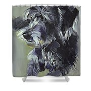 Connie Shower Curtain by Sally Muir