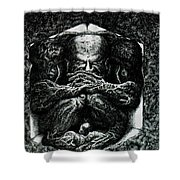 Contemplation Shower Curtain by Tobey Anderson