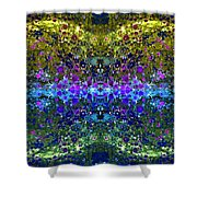 Cosmos Crown Jewels 2 Shower Curtain by Angelina Vick