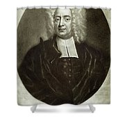 Cotton Mather 1663-1728 Shower Curtain by Granger