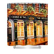 Court Of The Two Sisters Shower Curtain by Diane Millsap