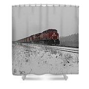 Cp Rail 2 Shower Curtain by Stuart Turnbull