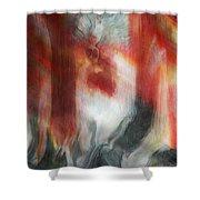 Creep Shower Curtain by Linda Sannuti