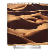 Curves Shower Curtain by Ivan Slosar
