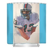Danny Shower Curtain by Darren  Chilton