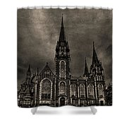 Dark Kingdom Shower Curtain by Evelina Kremsdorf