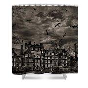 Daydreams Darken Into Nightmares Shower Curtain by Evelina Kremsdorf