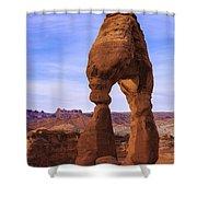 Delicate Landmark Shower Curtain by Chad Dutson