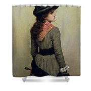 Denise Shower Curtain by Herbert Schmalz