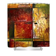Depth Of Emotion By Madart Shower Curtain by Megan Duncanson