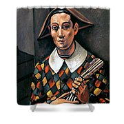Derain: Harlequin, 1919 Shower Curtain by Granger