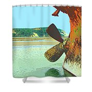 Desdemona 4 Shower Curtain by Dominic Piperata