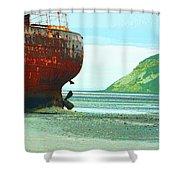 Desdemona 5 Shower Curtain by Dominic Piperata