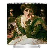 Desdemona Shower Curtain by Frederic Leighton