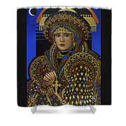 Desdemona Shower Curtain by Jane Whiting Chrzanoska