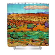 Desert Day Shower Curtain by Johnathan Harris