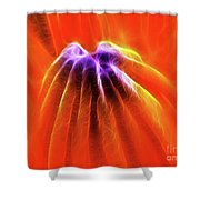 Desire Shower Curtain by Wingsdomain Art and Photography