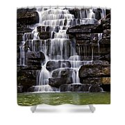Devil Shower Curtain by Lana Trussell