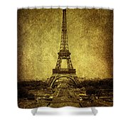 Dignified Stature Shower Curtain by Andrew Paranavitana