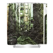 Discounted Memory Shower Curtain by Andrew Paranavitana