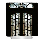 Doorway Shower Curtain by Sandy Keeton