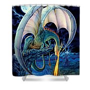 Dragon Causeway Shower Curtain by The Dragon Chronicles - Robin Ko