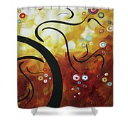 Drama Unleashed 1 Shower Curtain by Megan Duncanson
