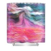 Dreamscapes Shower Curtain by Linda Sannuti