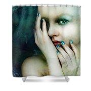 Dysthymia Shower Curtain by Mary Hood