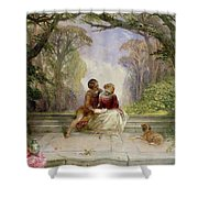 Early Summer Shower Curtain by Alfred Woolmer