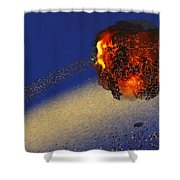 Earth 2012 Shower Curtain by Corey Ford