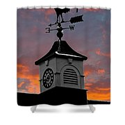 East By South Shower Curtain by Brian Roscorla