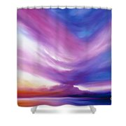 Ecstacy Shower Curtain by James Christopher Hill