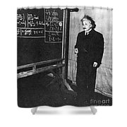 Einstein At Princeton University Shower Curtain by Science Source