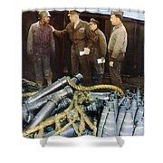 Eisenhower: Wwii, C1944 Shower Curtain by Granger