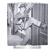 Eliot Ness Shower Curtain by Unknown