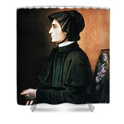 Elizabeth Ann Seton Shower Curtain by Granger