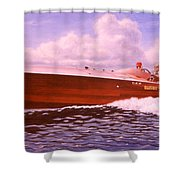 Elusive Shower Curtain by Richard De Wolfe